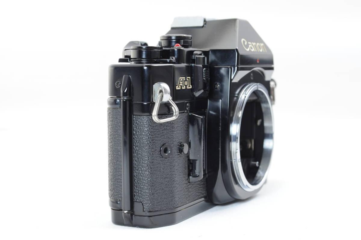 【ecoま】キヤノン CANON A-1 ブラック no.1931873 一眼レフフィルムカメラ_画像3