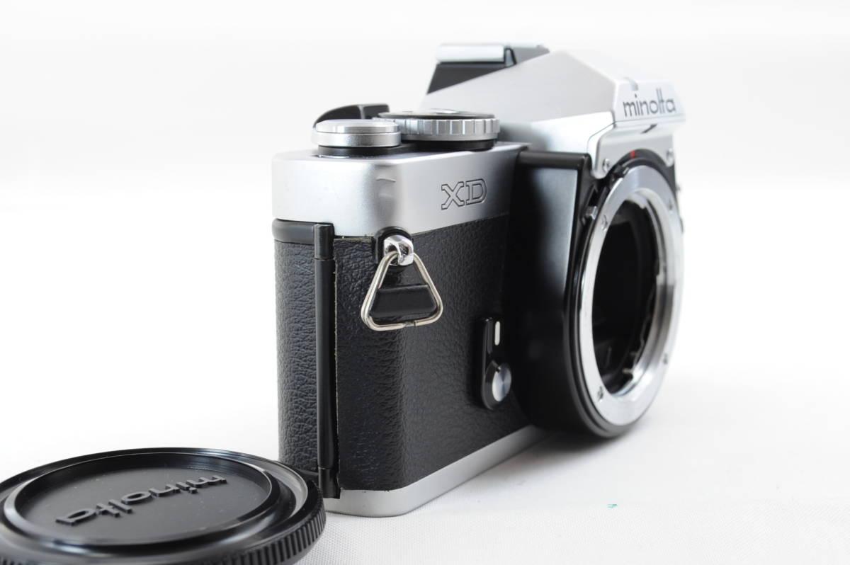 【ecoま】ミノルタ MINOLTA XD シルバー no.79412655 動作品 フィルムカメラ_画像4