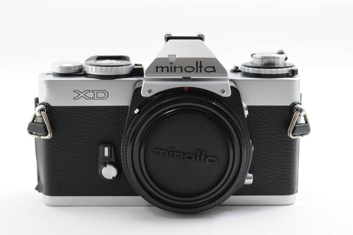 【ecoま】ミノルタ MINOLTA XD シルバー no.79412655 動作品 フィルムカメラ_画像1