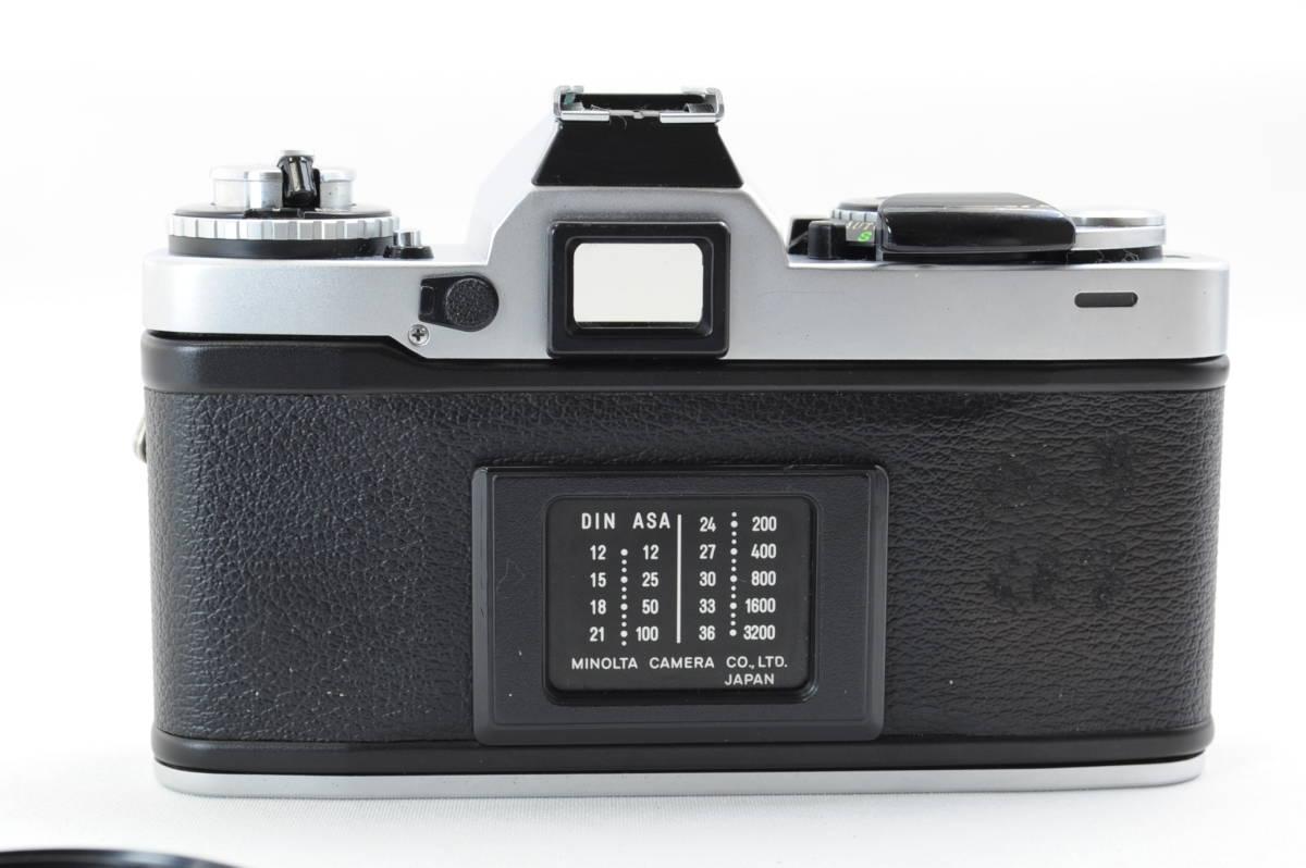 【ecoま】ミノルタ MINOLTA XD シルバー no.79412655 動作品 フィルムカメラ_画像5