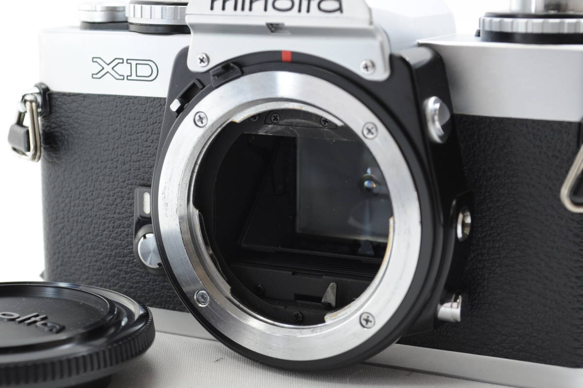 【ecoま】ミノルタ MINOLTA XD シルバー no.79412655 動作品 フィルムカメラ_画像2