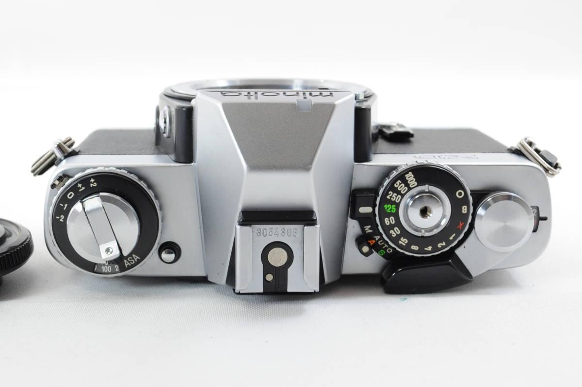 【ecoま】ミノルタ MINOLTA XD シルバー no.79412655 動作品 フィルムカメラ_画像6