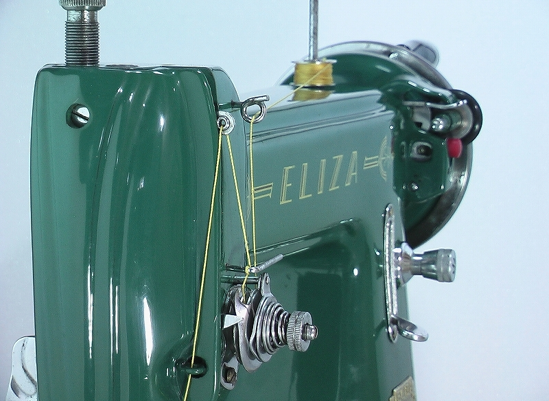 革・厚物用ミシン ハンドル駆動のカスタム調整 工業用よりもコンパクト#218_画像7