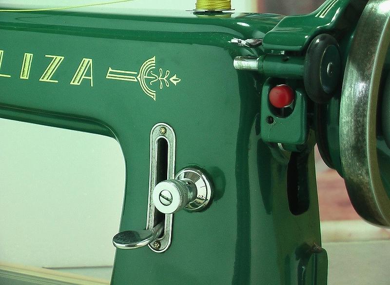 革・厚物用ミシン ハンドル駆動のカスタム調整 工業用よりもコンパクト#218_画像6