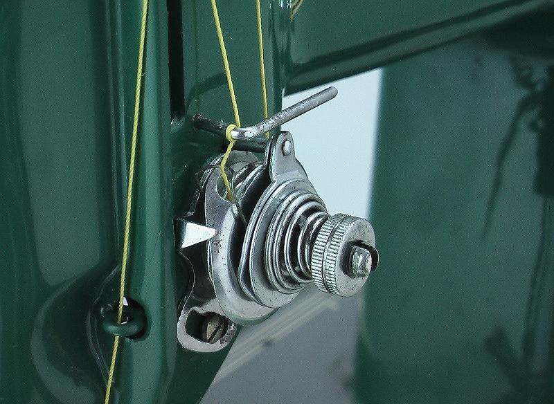 革・厚物用ミシン ハンドル駆動のカスタム調整 工業用よりもコンパクト#218_画像9
