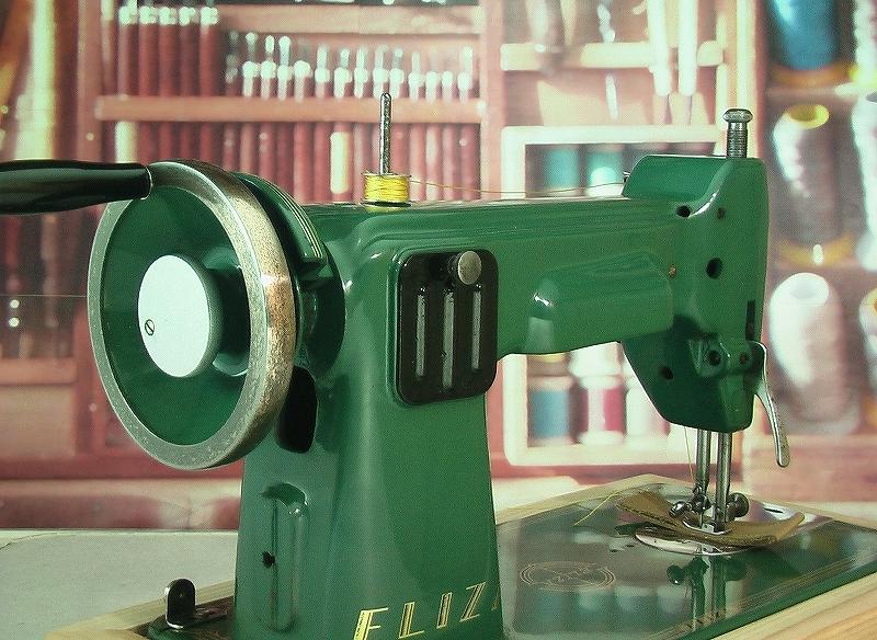 革・厚物用ミシン ハンドル駆動のカスタム調整 工業用よりもコンパクト#218_画像4
