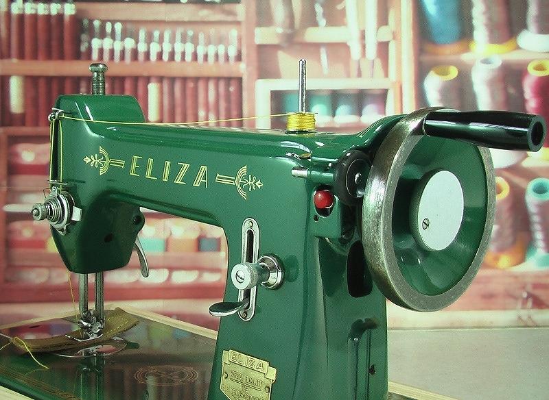 革・厚物用ミシン ハンドル駆動のカスタム調整 工業用よりもコンパクト#218_画像3