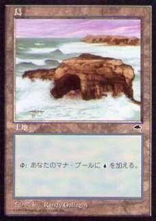 020336-008 TE/TMP 基本土地 島/Island(2) 日1枚_画像1