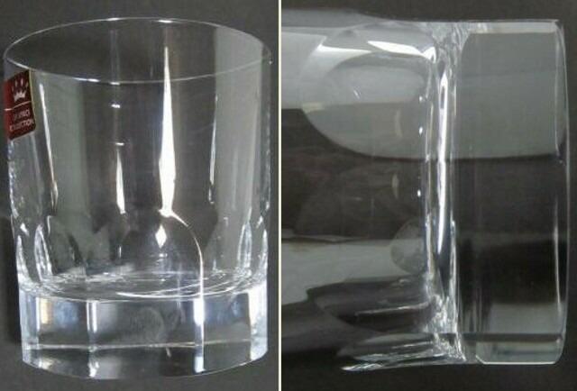 ダビンチ ロックグラス 8面 3個 イタリア製 未使用_画像3