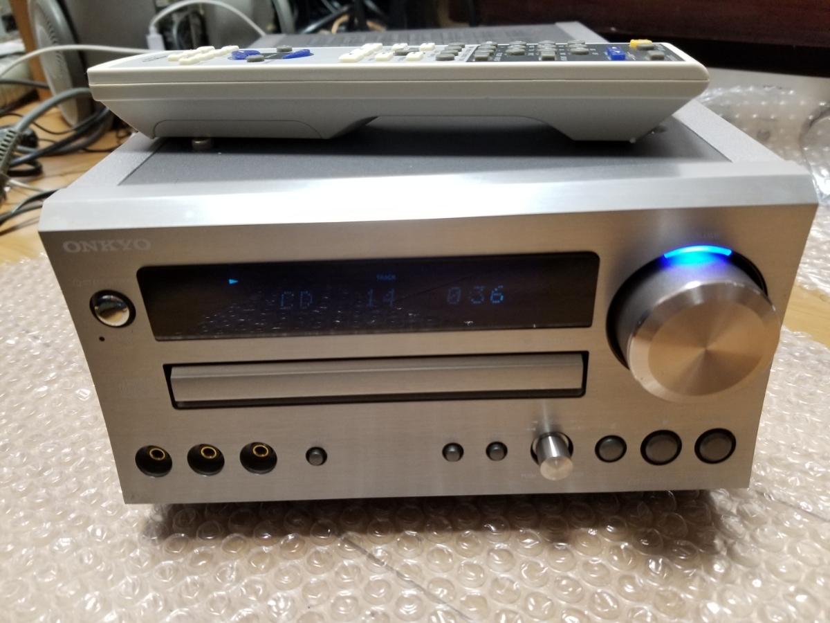 ONKYO CR-D1 LTD CD再生可能ジャンク リモコンRC-662S 付き_画像1