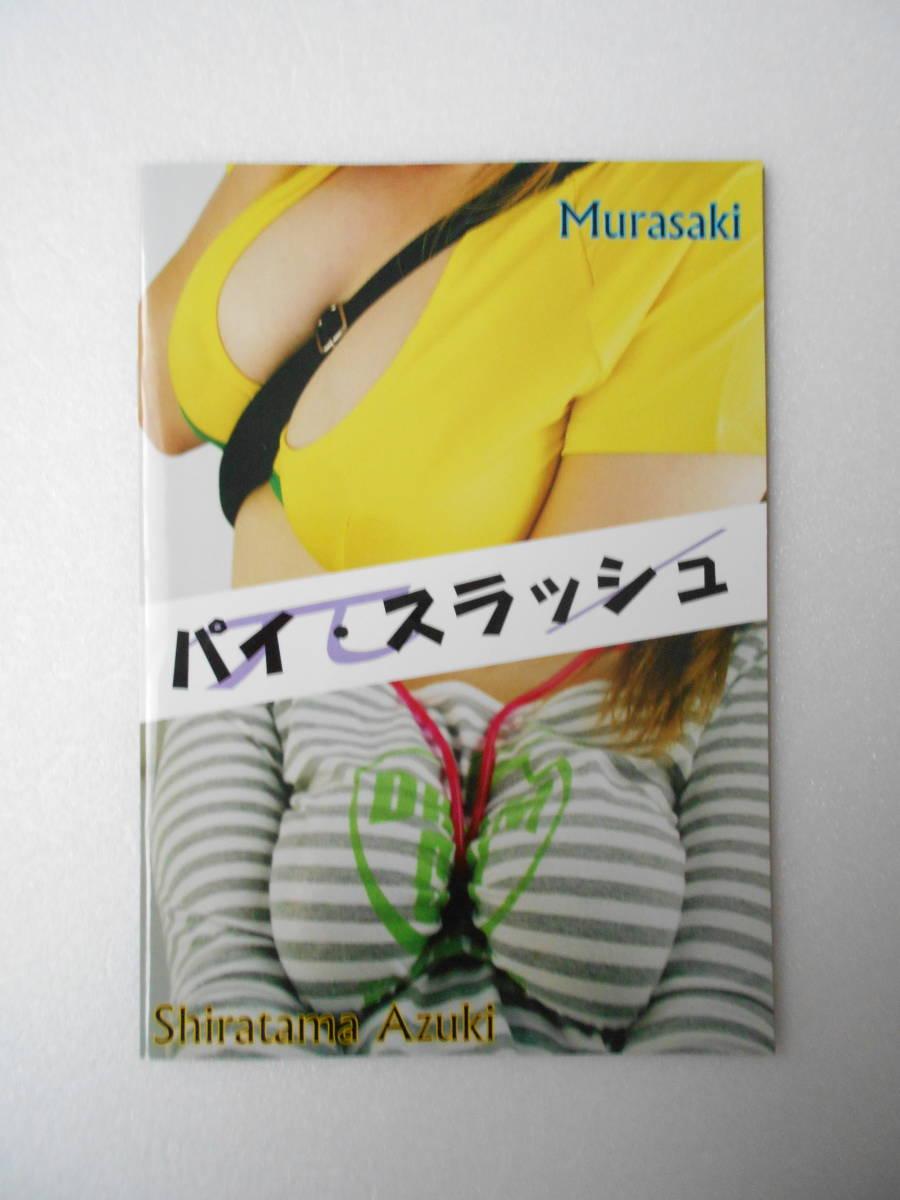 パイ・スラッシュ (バッグの肩掛け紐が、女の子の胸の谷間に食い込むこと)フルカラー写真集 同人誌_画像1