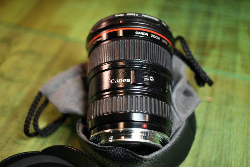 キヤノン 【Canon】EF 17-35mm F2.8 L USM ★CANON ZOOM LENS★Φ77 Lレンズ♪広角レンズ 良品♪_画像3
