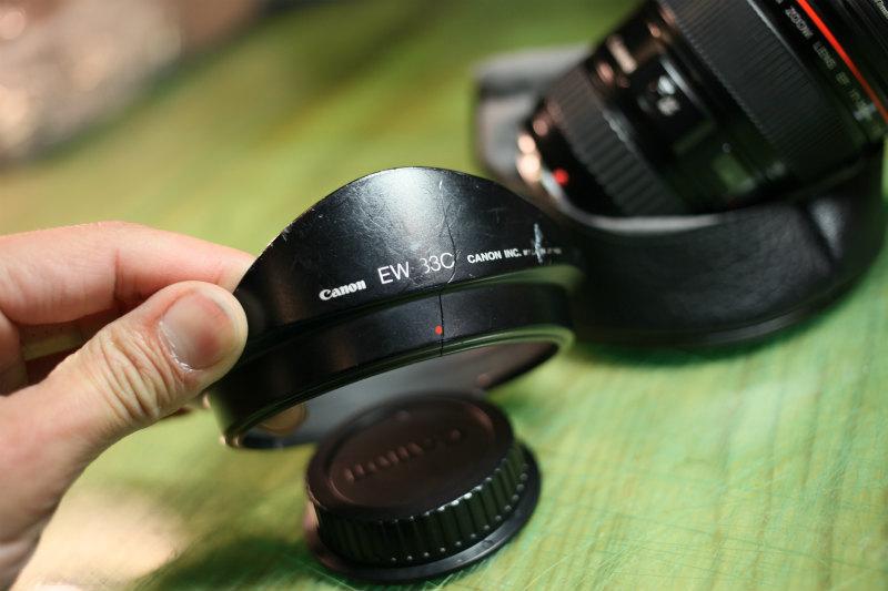キヤノン 【Canon】EF 17-35mm F2.8 L USM ★CANON ZOOM LENS★Φ77 Lレンズ♪広角レンズ 良品♪_画像7