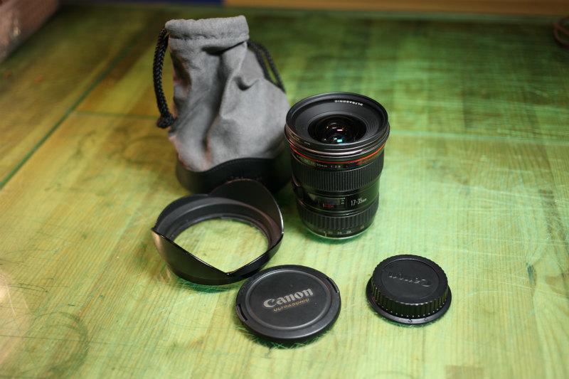 キヤノン 【Canon】EF 17-35mm F2.8 L USM ★CANON ZOOM LENS★Φ77 Lレンズ♪広角レンズ 良品♪