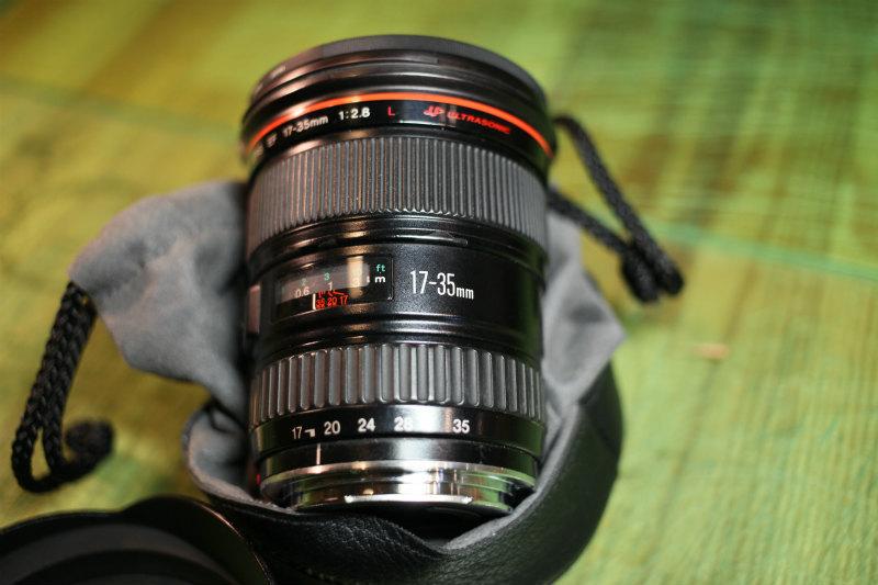 キヤノン 【Canon】EF 17-35mm F2.8 L USM ★CANON ZOOM LENS★Φ77 Lレンズ♪広角レンズ 良品♪_画像2