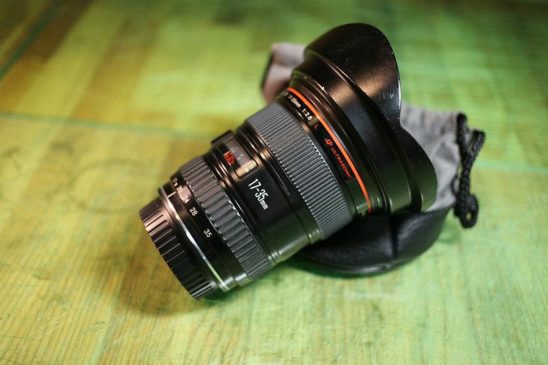 キヤノン 【Canon】EF 17-35mm F2.8 L USM ★CANON ZOOM LENS★Φ77 Lレンズ♪広角レンズ 良品♪_画像9