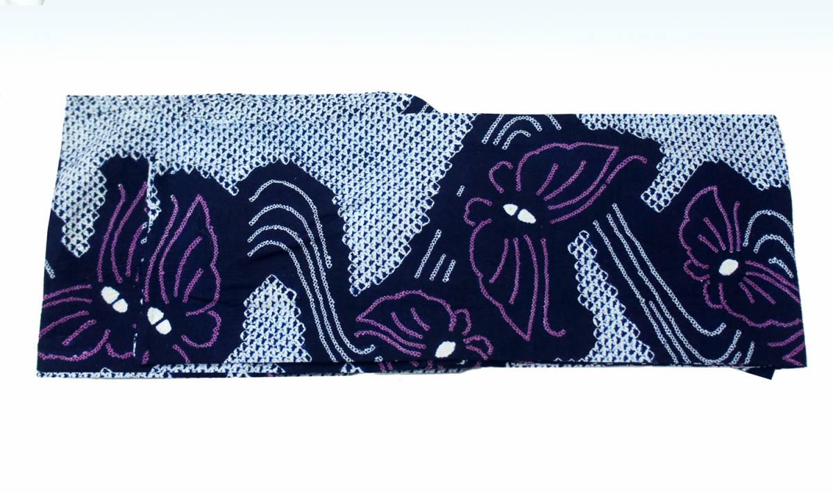 ♪♪有松鳴海絞り・総絞り浴衣  手縫いお誂え仕立済1円~