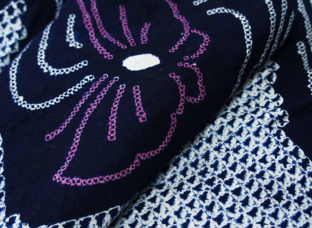 ♪♪有松鳴海絞り・総絞り浴衣  手縫いお誂え仕立済1円~_画像3