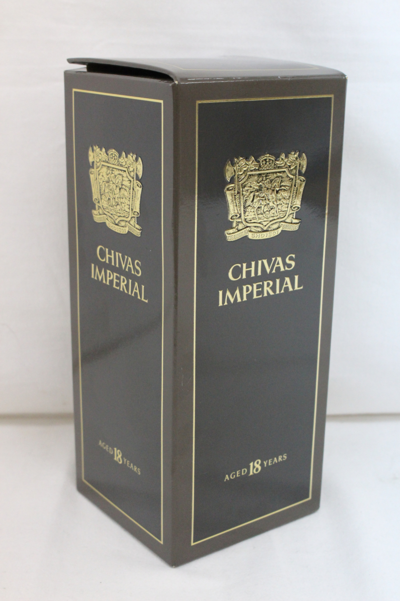 01CST 未開栓 CHIVAS IMPERIAL 18YEARS シーバス インペリアル 18年 700ml 43% スコッチ ウイスキー お酒 箱付