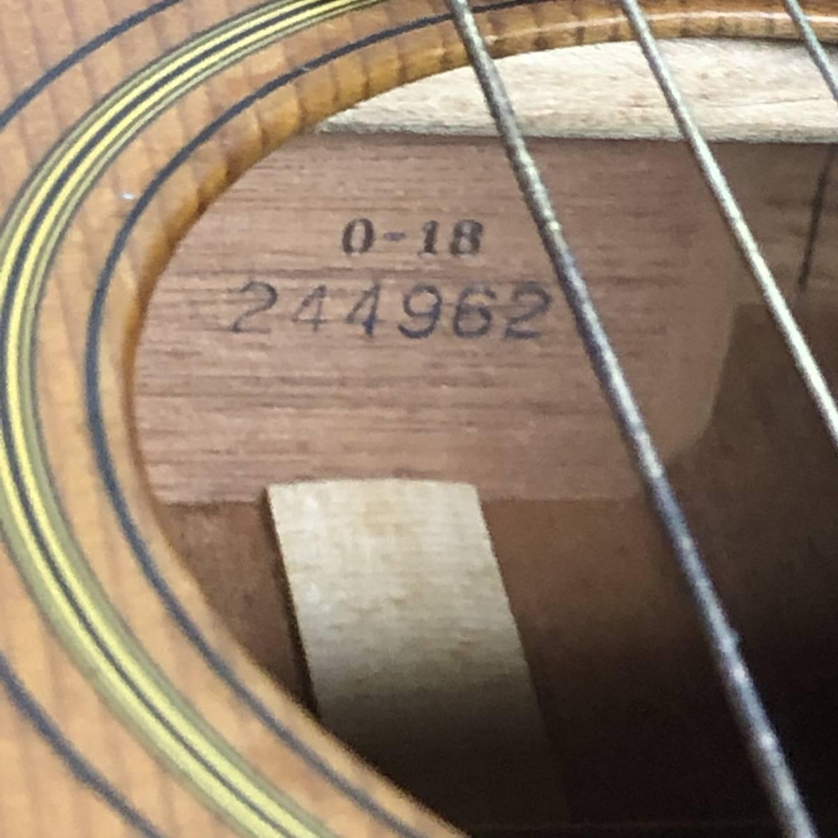 中古〇C.F.MARTIN&Co O-18 アコースティック ギター ハードケース YAMAHA 〇_画像4