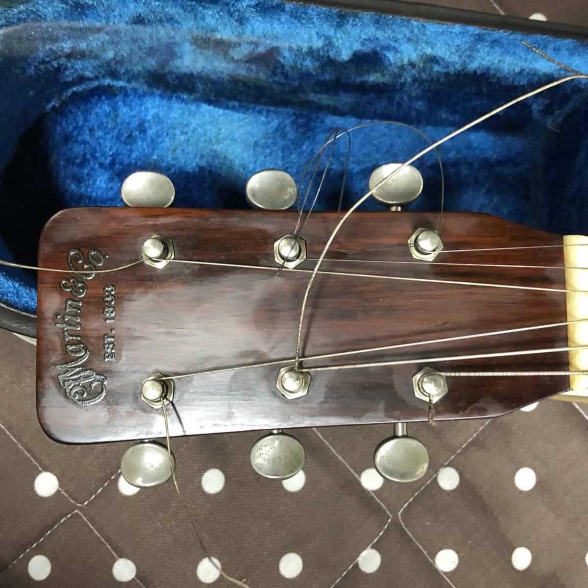 中古〇C.F.MARTIN&Co O-18 アコースティック ギター ハードケース YAMAHA 〇_画像5