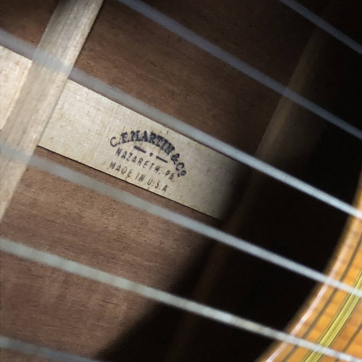 中古〇C.F.MARTIN&Co O-18 アコースティック ギター ハードケース YAMAHA 〇_画像3