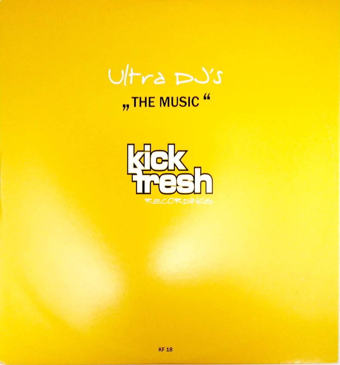 2858【LP盤】★☆ めったに出品されない◎The Music (Extended Mix)  Ultra DJ's ☆★ ≪貴重レコード≫  おまとめ発送も可_画像1