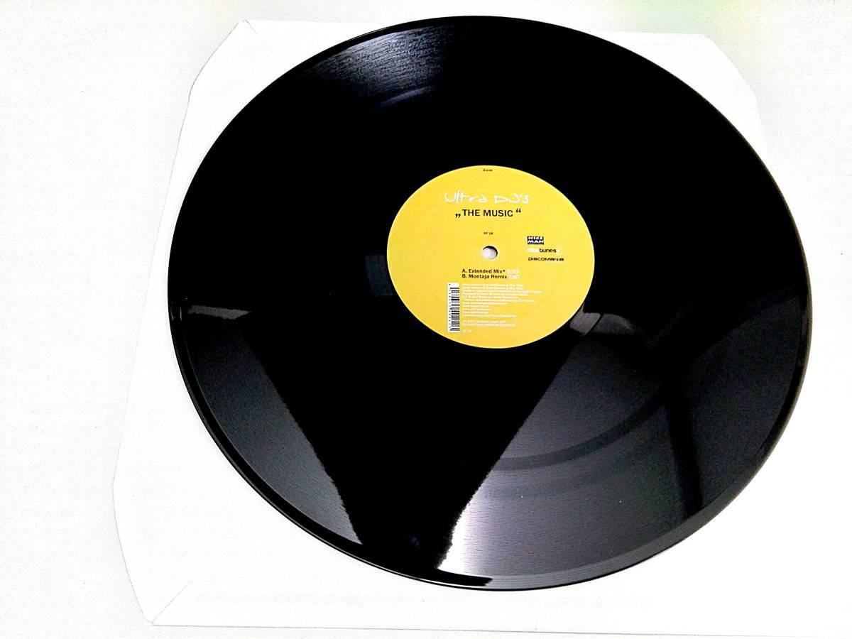 2858【LP盤】★☆ めったに出品されない◎The Music (Extended Mix)  Ultra DJ's ☆★ ≪貴重レコード≫  おまとめ発送も可_画像5