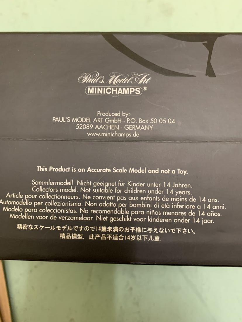 希少 MINICHAMPS 1/12 HONDA GoldWing ゴールドウィング GL1000 メタリックレッド 新品同様_画像4