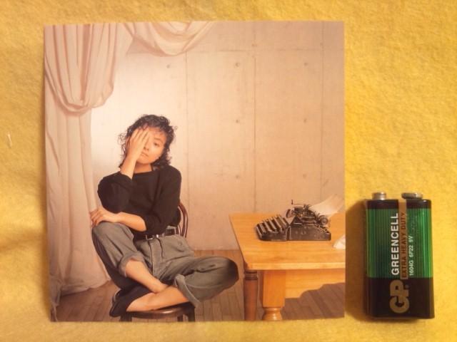 付録付き 薬師丸ひろ子 シンシアリー・ユアーズ SINCERELY YOURS 終楽章 時代 もう一度 色彩都市 CT32-5155 CDアルバム _画像3