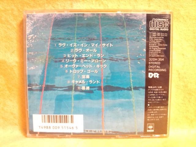 送料込み ザ・スクェア スポーツ THE SQUARE S・P・O・R・T・S 32DH 354 DROP GOAL TAKARAJIMA CD アルバム_送料無料 THE SQUARE S・P・O・R・T・S