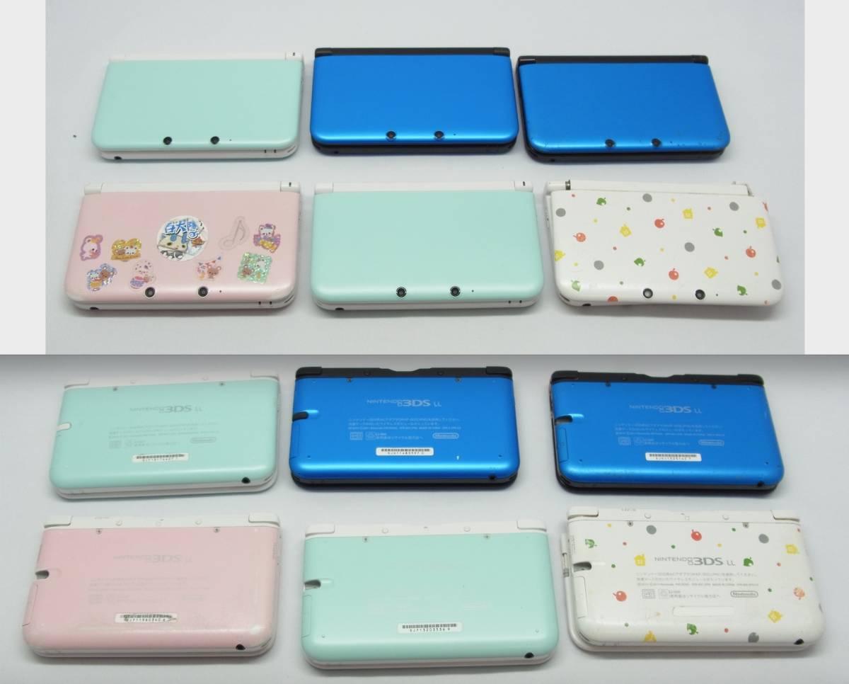 NINTENDO new3DSLL(5台), 3DSLL(6台), ,3DS(2台),2DS(3台),Will U 本体(1台 ),Nintendo Switch 本体(1台) 合計18台 ジャンク品_画像5