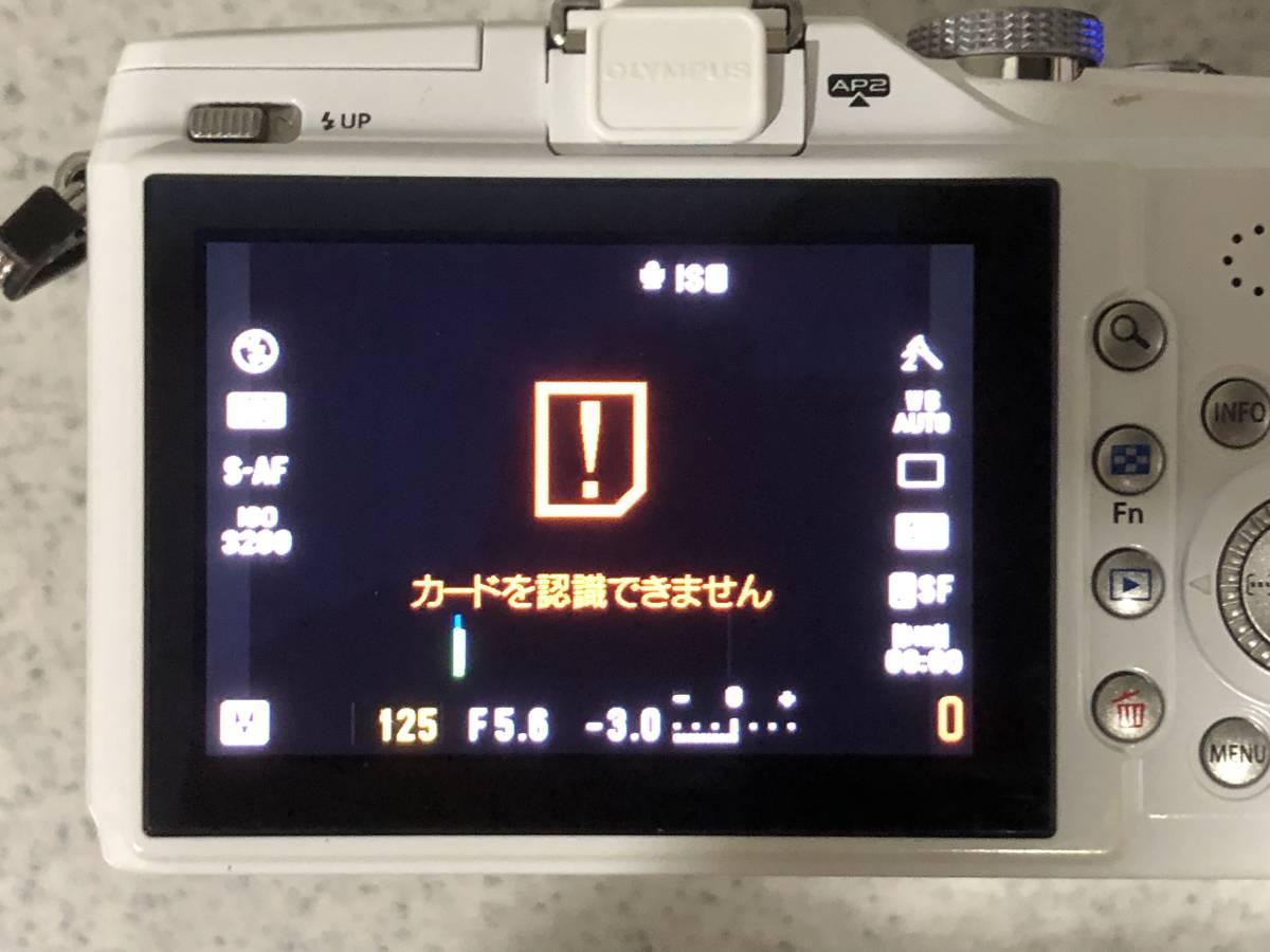 オリンパス PEN E-PL2 ダブルレンズ_画像7