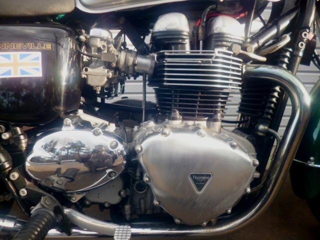 トライアンフ ボンネビル 個人出品 札幌 初期型モデル 865cc エンジン載せ換え公認_画像3