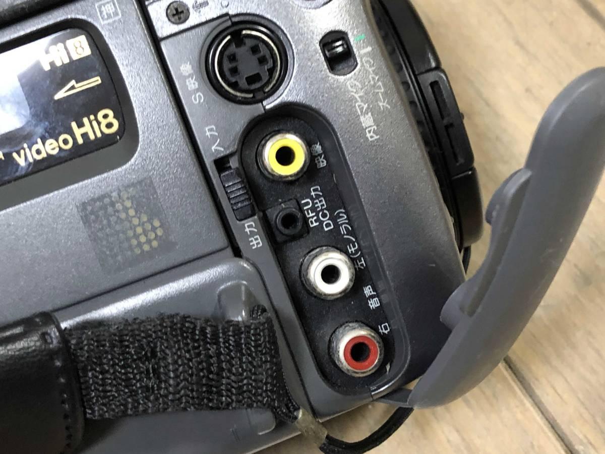 ダビング用★SONY Hi8 CCD-TR1000 Video Hi8 ハンディカム Handycam ビデオカメラ_画像4