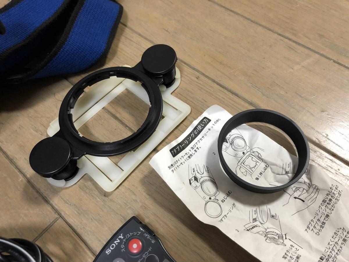 ダビング用★SONY Hi8 CCD-TR1000 Video Hi8 ハンディカム Handycam ビデオカメラ_画像5