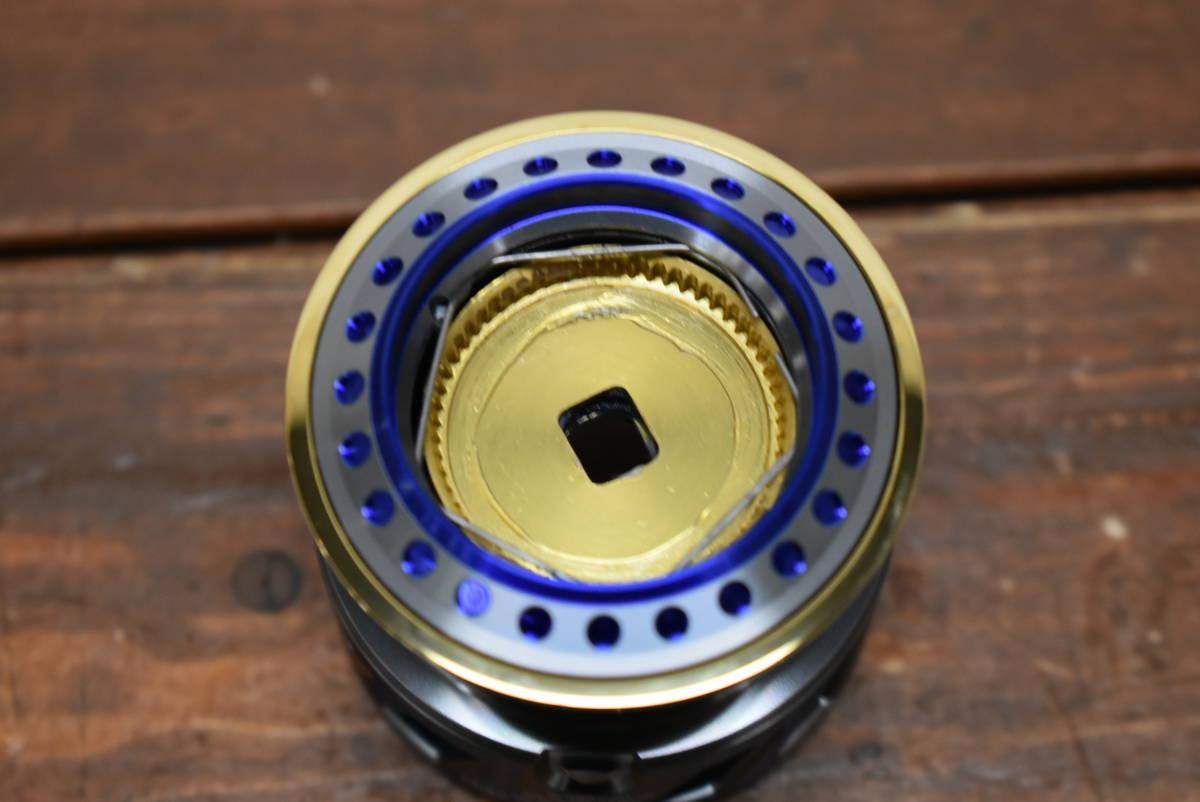 【未使用】ダイワ アイズファクトリー RCS 2506 ブルー メタルスプール ② 2500サイズ対応 ルビアス セルテート フリームス等に_画像4