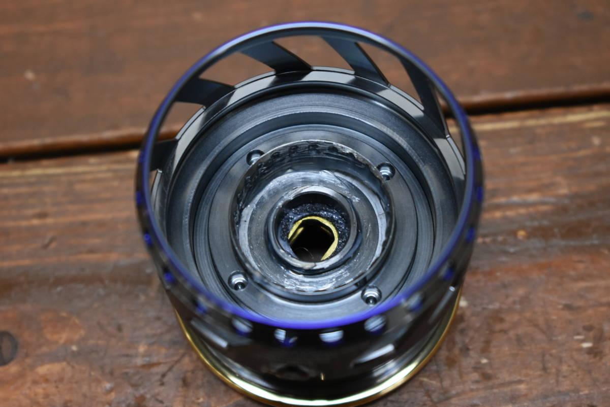 【未使用】ダイワ アイズファクトリー RCS 2506 ブルー メタルスプール ② 2500サイズ対応 ルビアス セルテート フリームス等に_画像5
