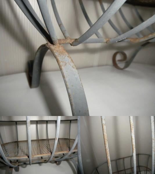 @@園芸 園芸用 鉢置き アンティーク レトロ 古民具 金属細工 ディスプレィ アート インテリア 雑貨_画像10