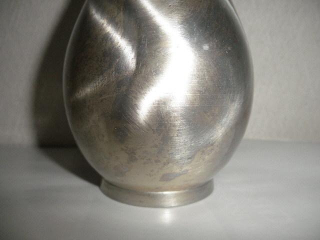 @@西洋アンティーク 銀では? 一輪挿し 銀の一輪挿し アンティーク コレクション レトロ 金属工芸 インテリア 雑貨 _画像2