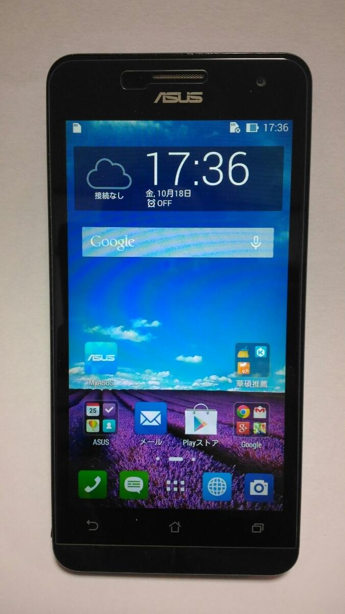 ASUS Zenfone5 T00F SIMフリー 16GB