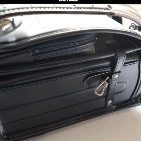 ◆コムサデモードフィユ(COMME CA ANGEL)◆新品箱付き 定価66.960円 純日本製 ランドセル 紺 6年間保証_画像5