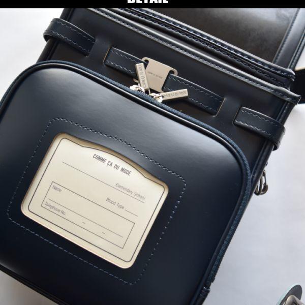 ◆コムサデモードフィユ(COMME CA ANGEL)◆新品箱付き 定価66.960円 純日本製 ランドセル 紺 6年間保証_画像9