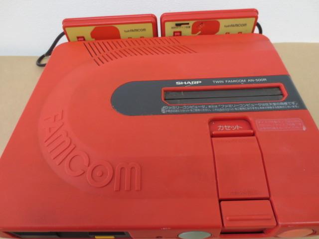 ★ツインファミコン 本体+付属品 (AN-500R) ★本格仕様ゴムベルト装填、1年間保証! 016_画像2
