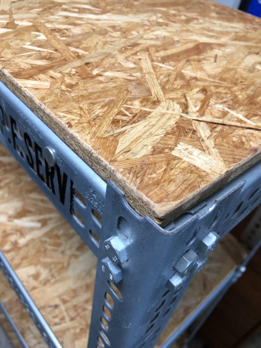 P.F.S リオン LYON アングルシェルフ ANGLE shelf パシフィックファニチャーサービス pacific furniture service 美品_画像2