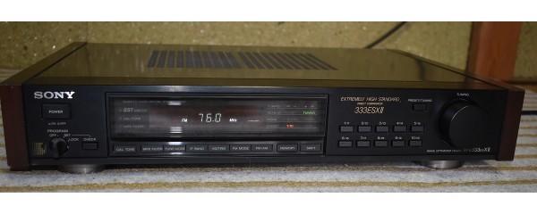 SONY ソニー FM-AMステレオチューナー ST-S333ESXⅡ オーディオ機器 チューナー 通電、動作確認済 D-562