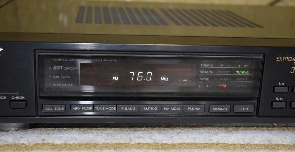 SONY ソニー FM-AMステレオチューナー ST-S333ESXⅡ オーディオ機器 チューナー 通電、動作確認済 D-562_画像3