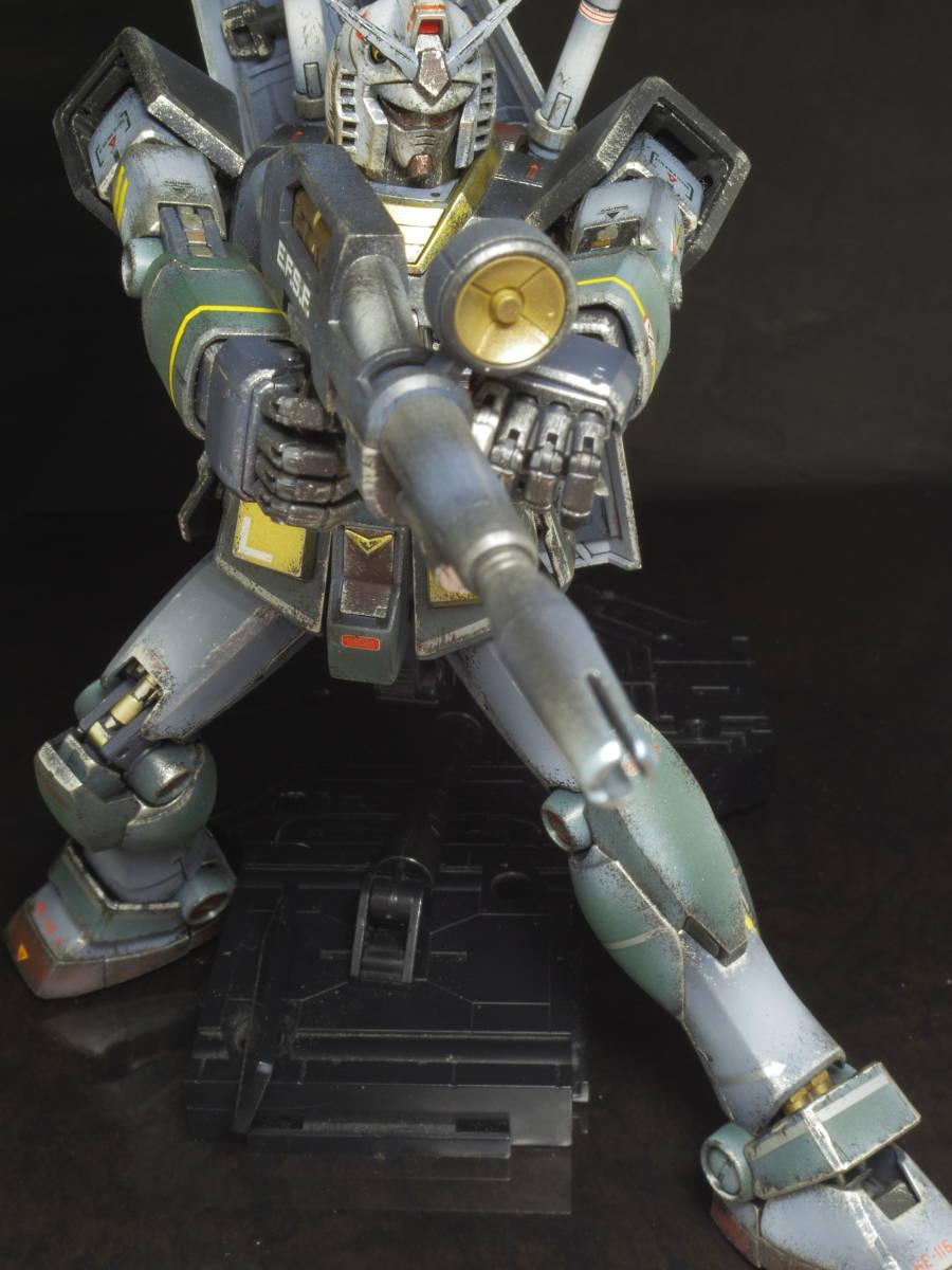 MG 1/100 RX-78-2 ガンダム Ver.2.0 リアルタイプ 完成品_画像7