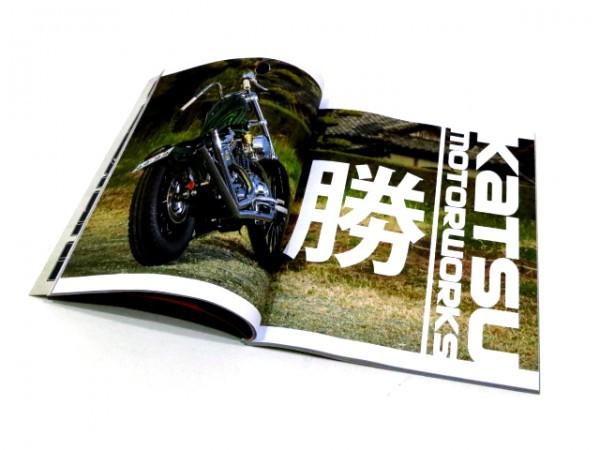 13-1/2 MAGAZINE #9 ヨーロッパモーターサイクルマガジンカスタムエヴォリューションスポーツスターソフテイルツインカムショベル_画像2