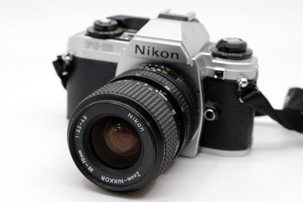 ニコン Nikon FG-20 NIKKOR 35-70mm 3.5-4.8 フィルムカメラ